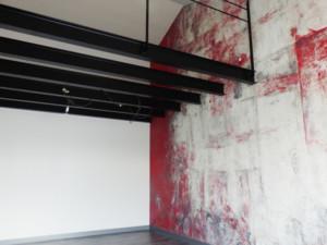 Murs patine rouge - Bleu Patine