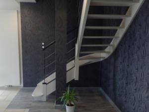 Escalier - Bleu Patine